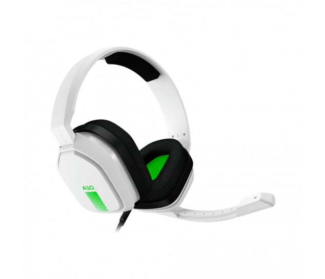 Headset ASTRO Gaming A10 - Branco/Verde