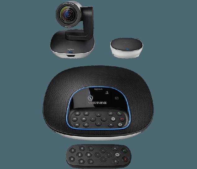 Sistema de videoconferência Logitech GROUP