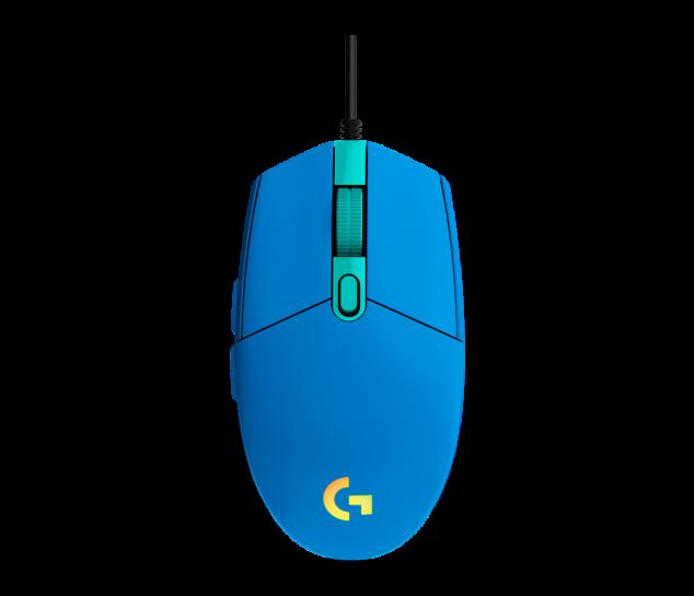 Mouse Gamer Logitech G203 LIGHTSYNC - Azul