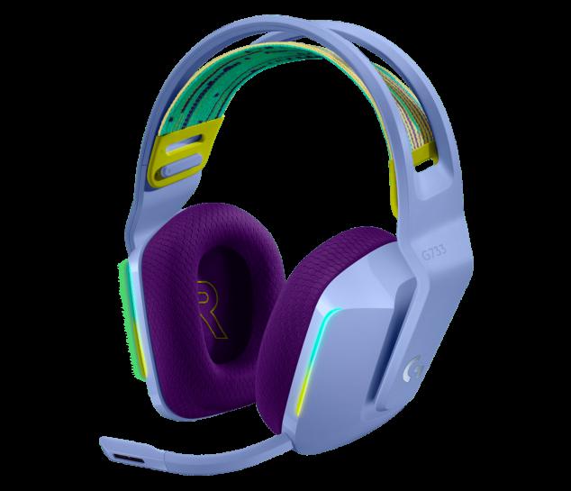 Fone de Ouvido RGB sem fio para Jogos G733