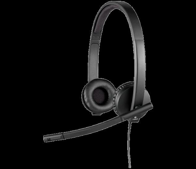 HEADSET USB STEREO LOGITECH H570E