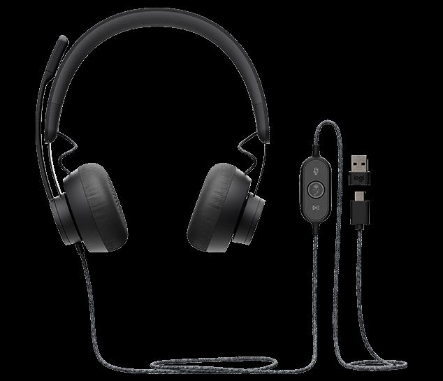 Headset Logitech Zone Wired