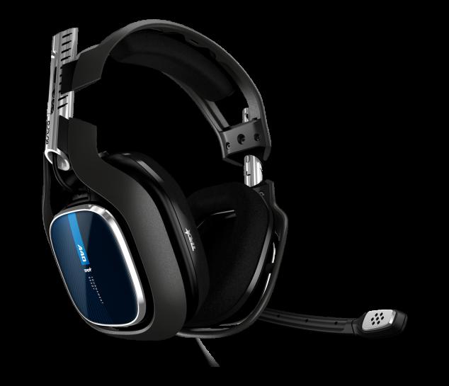 Headset ASTRO Gaming A40 TR - Preto/Azul