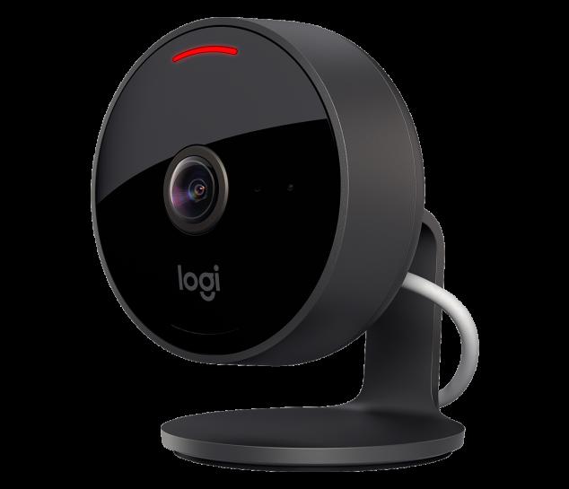 Câmera De Segurança Full Hd Habilitada Para Apple Homekit Logitech Circle View
