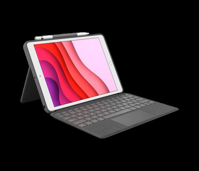 Capa com Teclado Combo Touch  para iPad 7ª e 8ª geração