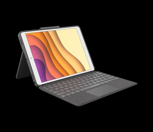 """Capa Com Teclado E Touch Pad Logitech Combo Touch Para Ipad Pro 10.5"""" E Air 3ª Geração"""