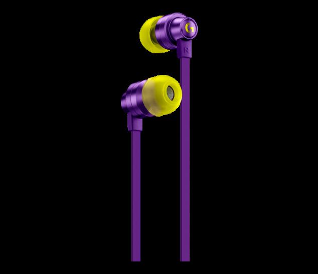Fone de Ouvido Intra-Auricular com Microfone para Jogos Logitech G333 Roxo