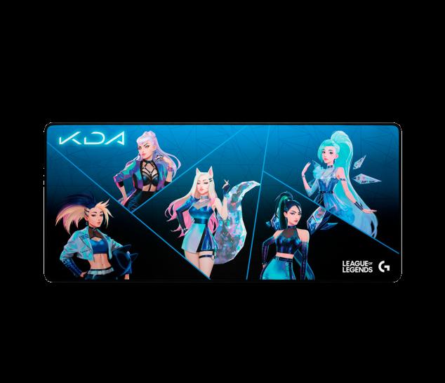 Periféricos do grupo kda: mouse pad
