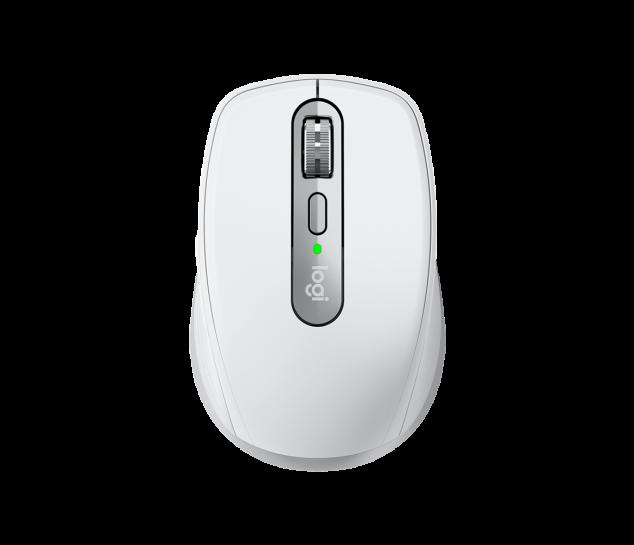 Mouse sem fio Logitech MX Anywhere 3 - Cinza Claro