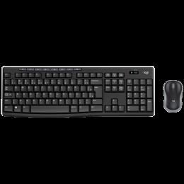 Combo Teclado e Mouse sem fio Logitech MK270 - Padrão ABNT2