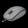Mouse Com Fio Logitech M110 Cinza