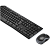 Combo Teclado e Mouse Wireless Logitech MK270 - Padrão ABNT2